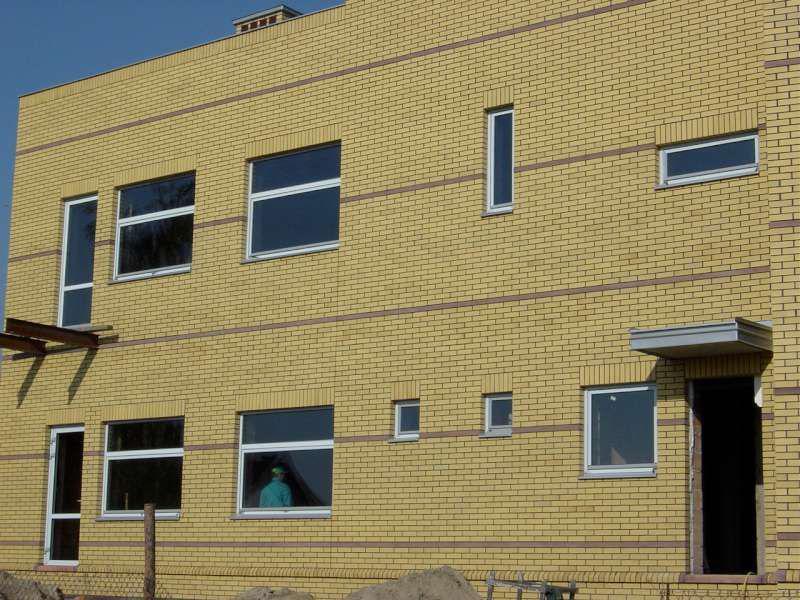 Aluminium windows and sites