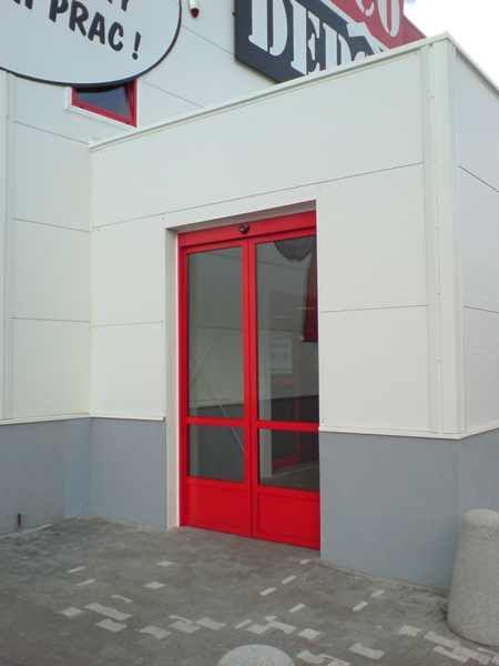 Aluminium windows and sites