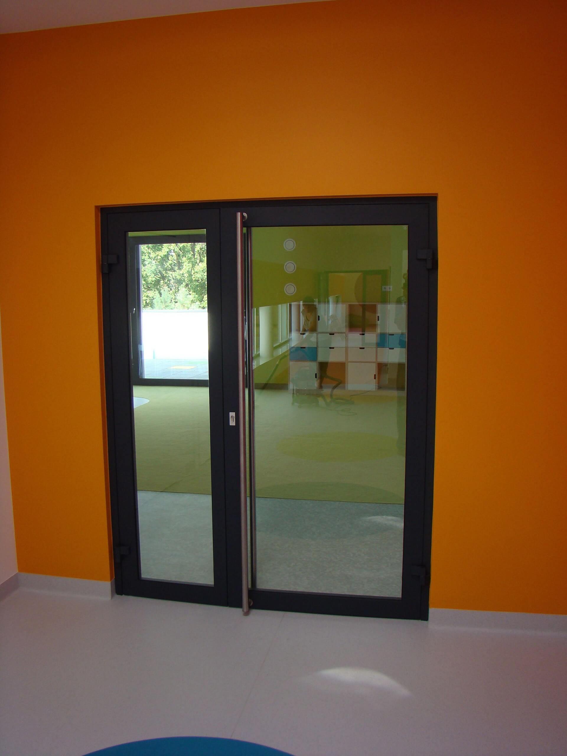 Okna i witryny aluminiowe